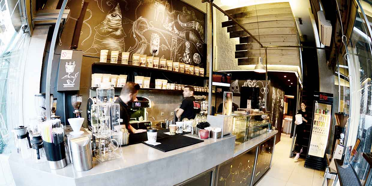 BRIDGE COFFEE ROASTERS franchise