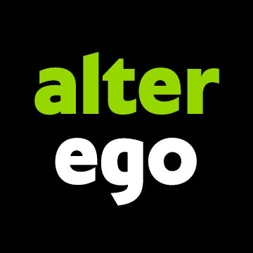 Alter Ego Logo Black