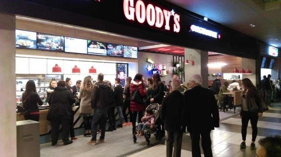 64ee64a03f06 Το Goody s Burger House εγκαινίασε το νέο του κατάστημα στο Fashion City  Outlet