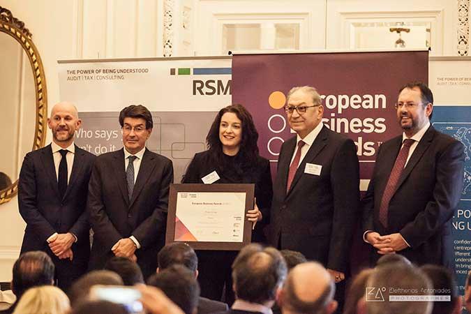 Μεγάλη βράβευση της Today Group ως National Champion στα European Business Awards 2017