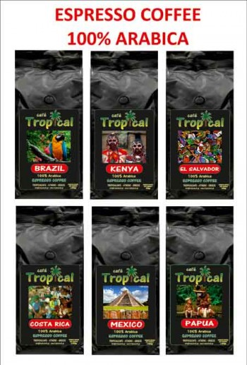 TROPICAL ESPRESSO COFFEE Fill 350x517