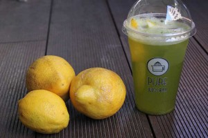 Pure Juice Bar Lemonade3 Fill 300x200